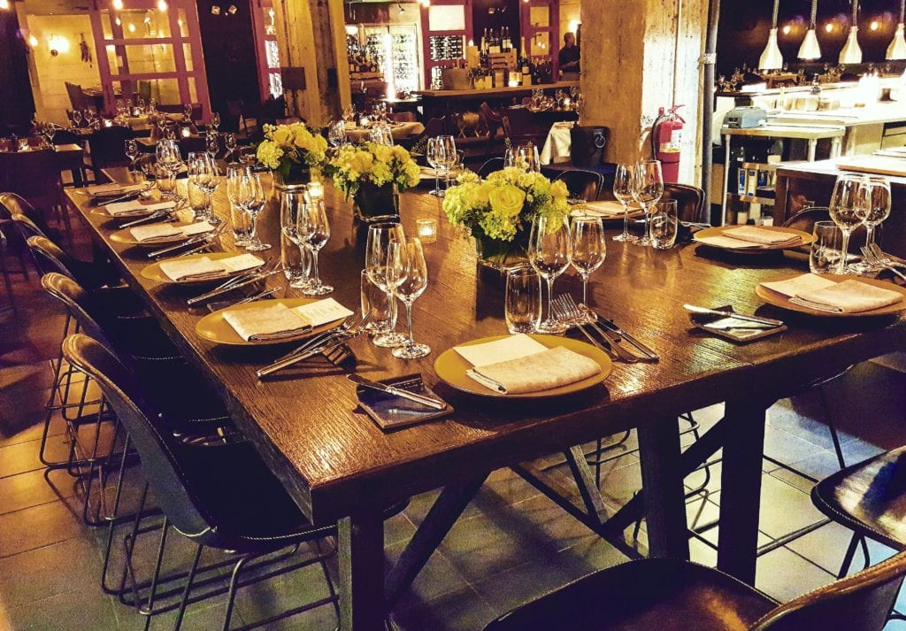 The Chefs Table A Piquant Experience For Food Lovers BLACKBARN - The chef's table catering